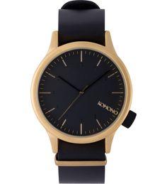Gold Black Magnus Watch