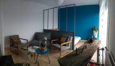 Une verrière de séparation en bois à moindre coût #diy #bricolage #home