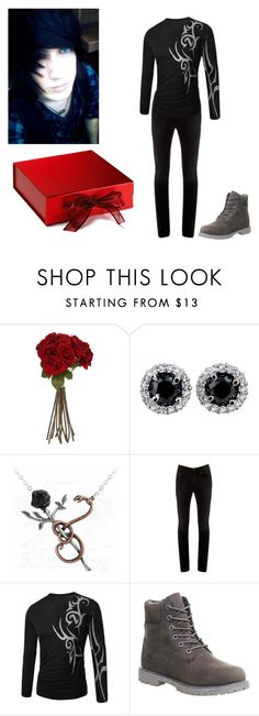"""""""Happy Valentines Day Babe ~Andy"""" by melodey27 ❤ liked on Polyvore featuring Sia, Acne Studios, Timberland, women's clothing, women, female, woman, misses and juniors"""