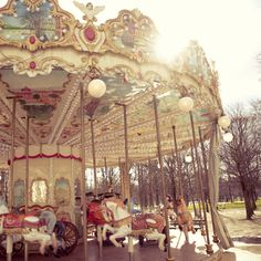 Paris carousel.