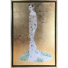 Oliver Gal Floral Fashion Framed Art ($495) ❤ liked on Polyvore featuring home, home decor, wall art, floral home decor, framed floral wall art, floral wall art and framed wall art