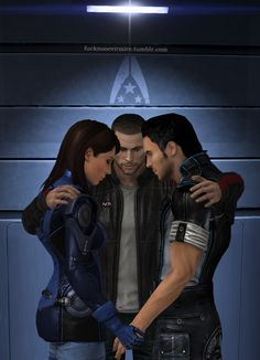 Would've looked better with FemShep / Forever a team by Forever-in-a-Day.deviantart.com on @deviantART