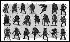 Concept Art World » Middle-earth: Shadow of Mordor Concept Art by ...
