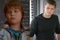 After he played for the Ducks, Aaron Schwartz did several episodes of The Adventures of Pete & Pete and had the lead role in a Disney movie about fat camp called Heavy Weights. Today, he's slimmed down and can be seen each week on the Upper East Side as Vanya the doorman on Gossip Girl. #snakkle #celebs #hockey