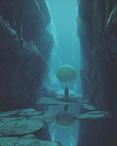 Stylish 3D Rendering Work of Beeple