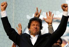 Imran Khan stable after fall from stage in Lahore