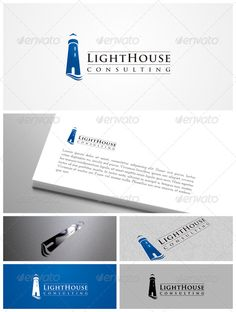 Lighthouse  Logo Design Template Vector #logotype Download it here:  http://graphicriver.net/item/lighthouse-logo/6524276?s_rank=23?ref=nexion
