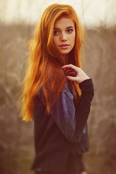 red haired young women - Google Search