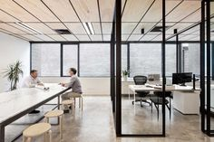 Blackwood Street Bunker, Shared Office Space in Melbourne by Clare Cousins Architects | Yellowtrace -