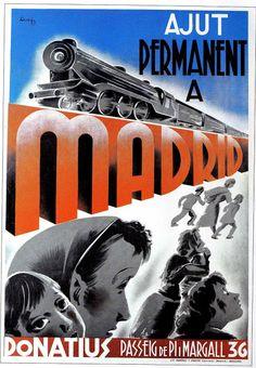 Spain - 1936. - GC - poster