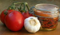 Tomates secos en microondas