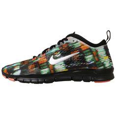 Nike Wmns Free 5.0 TR Fit 4 PRT Print Womens Cross Training Shoes 629832-007 #Nike #RunningCrossTraining