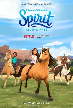 Spirit Riding Free On Premieres Netflix Next Month FREE Craft Activity Packet