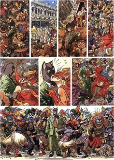 Juanjo Guarnido's watercolours from Blacksad: A Silent Hell