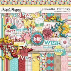 12 Months: Birthday by Penny Springmann. $6.49