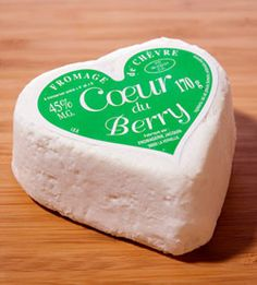 "French Chèvre Coeur du Berry. ""Get fresh"" with this fresh goat cheese from France."