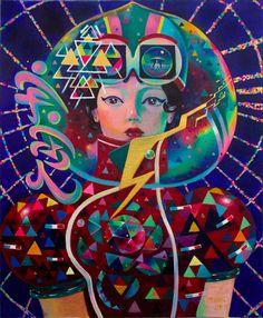 Emma Mur (不二喵) - Beijing Illustrators, Projects, Painting, Art, Log Projects, Art Background, Blue Prints, Painting Art, Kunst