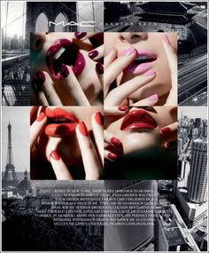 MAC - Lips & Tips / Fashion Sets Collection for Summer 2012