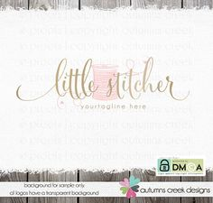 sewing logo logo design sewing logos applique by autumnscreek