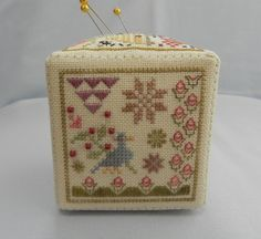 Stitching, Applique, Decorative Boxes, Bee, Cross Stitch, My Favorite Things, Sewing, Projects, Home Decor