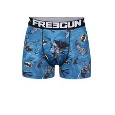 Boxeri albaștri Batman Freegun Trunks, Batman, Swimming, Fitness, Swimwear, Fashion, Drift Wood, Swim, Bathing Suits