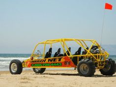 Buggy Rides for up to 8 people along Pismo Beach - www.sunbuggy.com