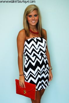 Baxter Dress - add color for game day!