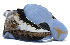 """100% authentic 15ded aa061 Buy New Air Jordan 9 """"Doernbecher"""" White Metallic Gold-Black 2018 Copuon  from Reliable New Air Jordan 9 """"Doernbecher"""" White Metallic Gold-Black 2018  Copuon ..."""
