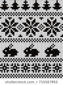 Imágenes similares, fotos y vectores de stock sobre Knitted Seamless Border Birds; 714600694 | Shutterstock Easy Knitting Patterns, Knitting Charts, Knitting Socks, Crochet Patterns, Tiny Cross Stitch, Cross Stitch Embroidery, Crochet Flamingo, Fillet Crochet, Pixel Pattern