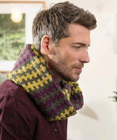 Loop-Schal für Herren, S9208 #Wool85