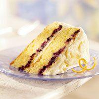 Blueberry Citrus Cake by BHG