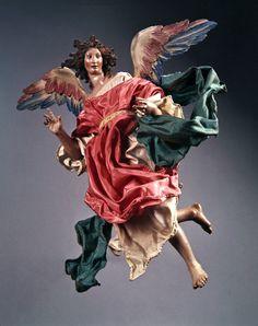 Christmas Tree and Neapolitan Baroque Crèche/Presepe Angel, NY Metropolitan Museum