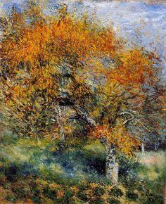 Pierre Auguste Renoir - The Pear Tree - 1880-1889