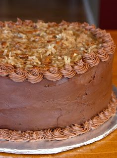 Tastes Better From Scratch: German Chocolate Cake (I am SO going to bake this for my brother's birthday this weekend)