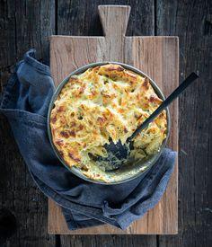 Mac & Cheese broccoli - Miljuschka I Love Food, Good Food, Yummy Food, Risotto, Mac And Cheese, Kids Meals, Great Recipes, Vegetarian Recipes, Dinner