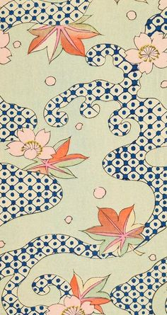 Shin Bijutsukai (The New Monthly Magazine of Desgn) from Smithsonian Libraries archive Description based on surrogate of: 1901 (monthly issues bound together subsequent to publication) Japanese Textiles, Japanese Patterns, Japanese Fabric, Japanese Prints, Japanese Design, Japanese Art, Motifs Textiles, Textile Prints, Textile Patterns