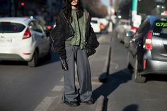 Our street style coverage continues with Paris, arguably the most important stop in the fashion week schedule. See what people wore to fashion week here.