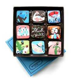 Chocolate boxes: perfect gift for Chrismas https://www.mariebelle.com/chocolate/blue-box-collection/9-piece-mother-s-day-box.html