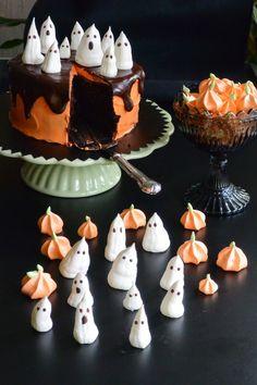 Celebration Treats 4U: Halloween -marengit Celebration, Treats, Halloween, Desserts, Food, Sweet Like Candy, Tailgate Desserts, Goodies, Deserts