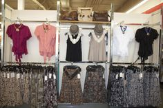 #VFOBTS  Misses Department Boutique Displays, Merchandising Ideas, Wardrobe Rack, Fall, Autumn