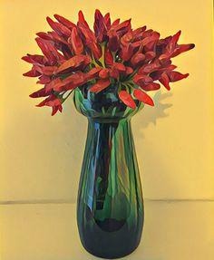 Dicono che il rosso e il verde non stiano bene assieme, in realtà è un accostamento interessante 🌷🌺 #kolor #colori #kolors #naturamorta #rossoeverde #photoblog #photoart #photolab #fotografia #red #green #bestpicture