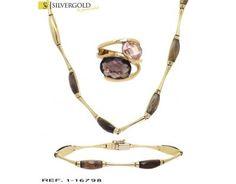 1-1-16798-1-Conjunto oro 18Kt. de tres piezas, gargantilla, anillo y pulsera Headphones, Ring Bracelet, Chokers, Silver, Gold, Bangle Bracelets, Jewels, Headpieces, Ear Phones