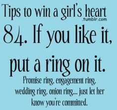 Onion ring? Haha