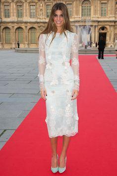 Bianca Brandolini d'Adda en Dolce & Gabbana Alta Moda