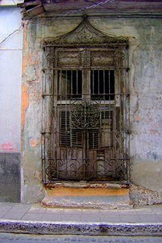Items similar to Iron Gates - Camaguey, Cuba 2010 on Etsy Abandoned Buildings, Abandoned Places, Cuban Decor, Virtual Travel, Window Handles, Cuba Travel, Santa Lucia, 10 Picture, Iron Work