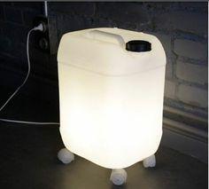 Plastic bottle lamp in plastics li. Plastic bottle lamp in plastics lights with Plastic Light Lamp Bottle Repurposed Furniture, Diy Furniture, Furniture Stores, Diy Luz, Homemade Lamps, Reuse Plastic Bottles, Plastic Plastic, Plastic Bottle Crafts, Deco Luminaire