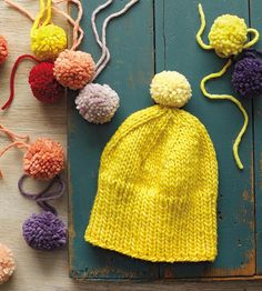 DIY Knit Hat from The Modern Natural Dyer