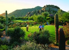 Boulders Resort and Spa, Carefree, AZ -- One of my favorite luxury golf resort experiences
