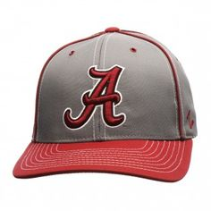 Alabama Crimson Tide Zephyr NCAA Gray Wrath Adjustable Hat (Gray)