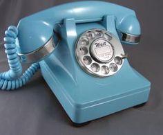 Cool refurbished blue phone